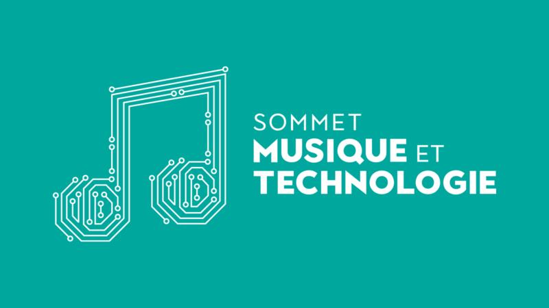 logo du Sommet musique et technologie 2020