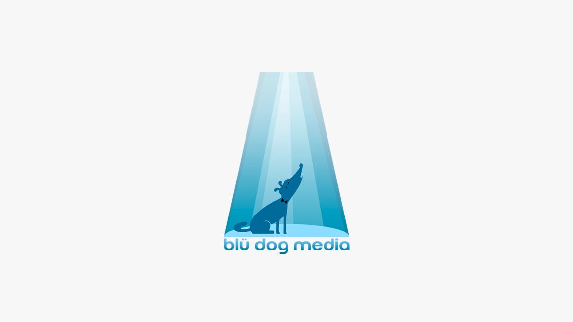 logo de Blü Dog Média